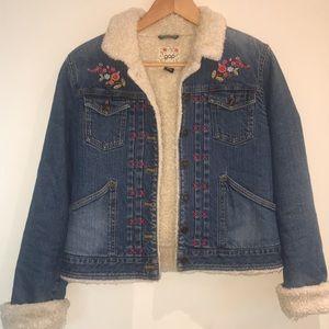 Denim gap jacket